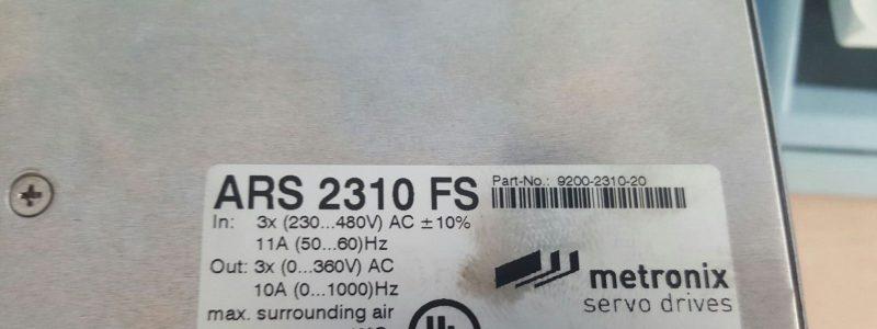 Azionamenti METRIX mod ARS 2310 FS
