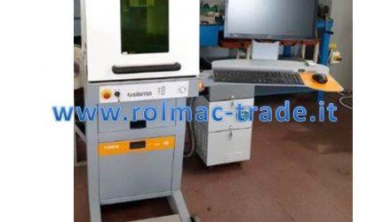 Marcatrice laser SISMA BIG SMARK 700F usata