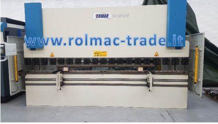 Pressa idraulica ERMAKSAN mod. CNC HAP 4100 x 120 usata